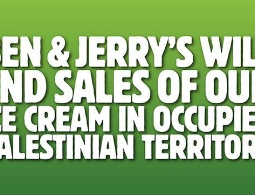 Pro-Israel Groups Letter to Governors on Ben & Jerry's and Anti-Boycott Laws