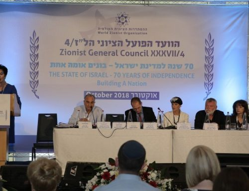 Report from the October 2019 Zionist General Council