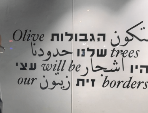 PRESIDENT'S MESSAGE – How to Peacefully NOT Divide the Land of Israel/Palestine