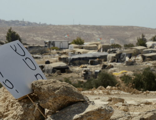 Susya: Why We Must Stop Annexation