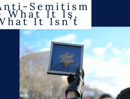 Antisemitism: What It Is, What It Isn't