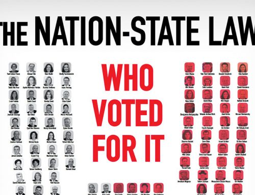 The Nation State Law: Who Voted For It