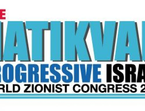 The WZC ELECTIONS – The Hatikvah Slate