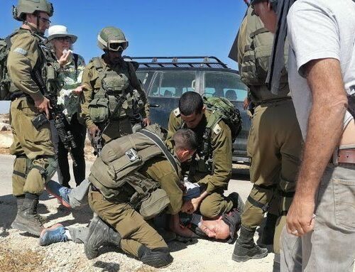 Solidarity with Anti-Occupation ActivistsAttacked by the IDF